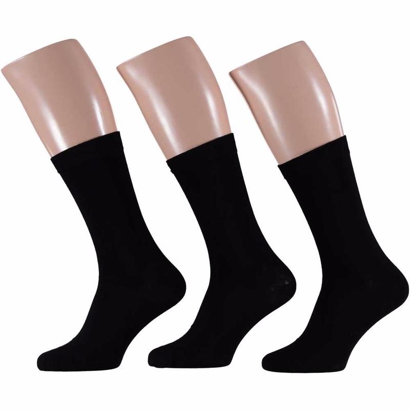 Zwarte basic sokken voor heren