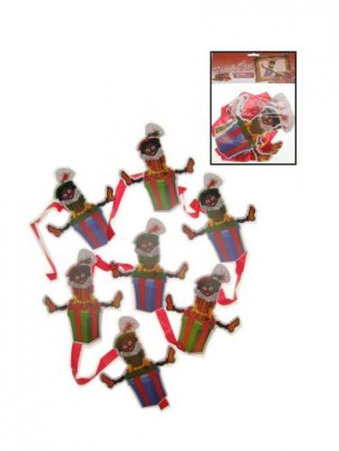 Zwarte Pietjes hangmobiel