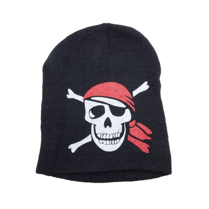 Zwarte piraten mutsen