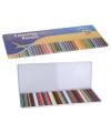 50 kleur potloden in metalen box