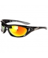 Biker zonnebril zwart