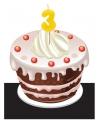 Cijfer kaarsen 3 jaar