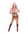 Dames cowgirl outfit