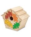 Knutsel vogelhuisjes voor kinderen