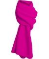 Fleece winter sjaal fuchsia