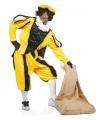Pietenpak geel zwart voor volwassen