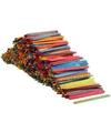 Gekleurde houten ijsstokjes 1000 stuks