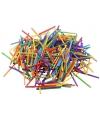 Gekleurde knutsellucifers 500 gram