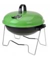 Groene barbecue rond 36 cm