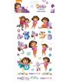 Kinder stickers Dora groot