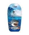 Haai/surfer speelgoed bodyboard 83 cm
