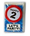 Verjaardagskaart 2 jaar