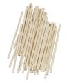 Hobby knutselhoutjes naturel 10 cm 60 st