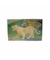 Bouwpakket hout tijger