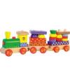 Houten speelgoed treintje met geluid