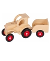 Speelgoed trekker van hout