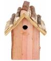 Vogelhuisje voor de Mezen 18x27 cm