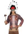 Kleding Indianen shirt verkleedoutfit