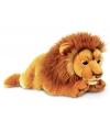 Pluche liggende leeuw 100 cm