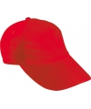 Rode kinder caps