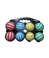 Gestreepte jeu de boules set