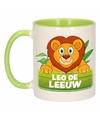 Dieren mok /leeuwen beker Leo de Leeuw 300 ml