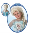 Frozen pruik Elsa voor kinderen