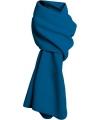 Fleece winter sjaal kobalt blauw