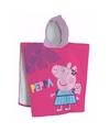 Peppa Pig handdoek cape voor kids