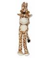 Hangende giraffe knuffeldier 45 cm