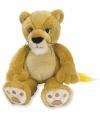 Pluche baby leeuw 28 cm