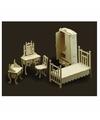 Slaapkamer meubels poppenhuis