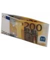 200 euro biljet portefeuille
