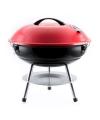 Metallic rode kogel BBQ