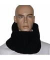 Gebreide sjaal North-Wick zwart