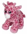 Pluche giraffe roze 22 cm