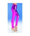 Roze metallic legging