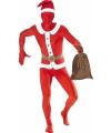 Kerstman kostuum second skin