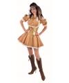 Gouden jurk voor dames