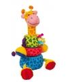 Speelgoed insteek giraffes 24 cm