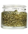 Superstar potje met glittergel in goud