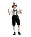 Groene Oktoberfest lederhose voor heren