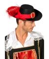 Feestartikelen voordelige musketiers hoed