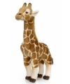WNF bruine pluche giraffe 38 cm