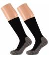 Heren hiking sokken zwart 45/47
