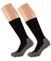 Dames hiking sokken zwart 35/38
