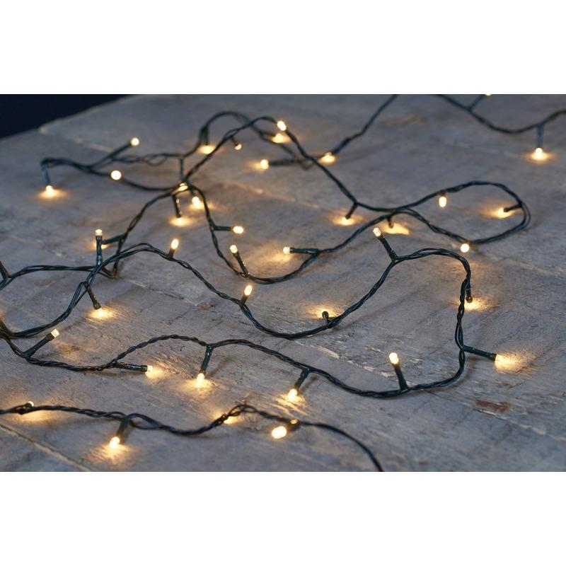 240 kerst LED lampjes warm wit voor buiten