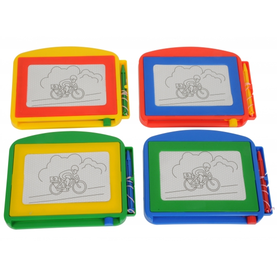 2x Magneet tekenbord voor kinderen 17 cm