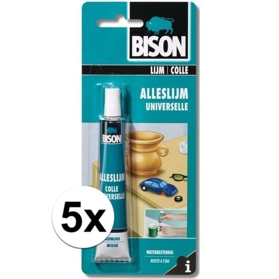 5x Bison universele alleslijm-knutsellijm 25 ml