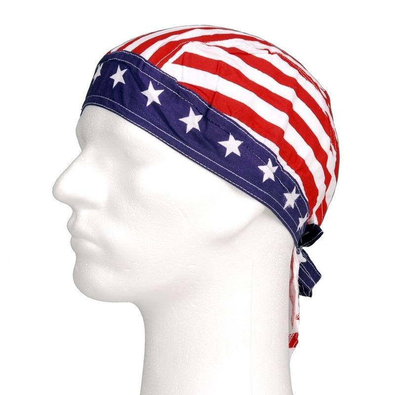 Amerikaanse print bandana